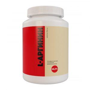 L-Аргинин гидрохлорид алифатическая основная аминокислота в свободной форме 98,5%
